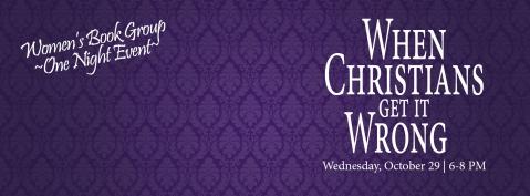 Women's Ministry Thursday Xians -10.14
